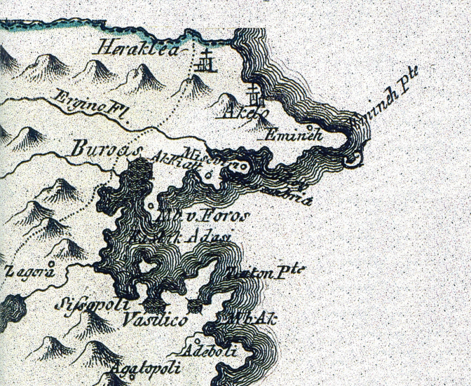 Map from 18th century