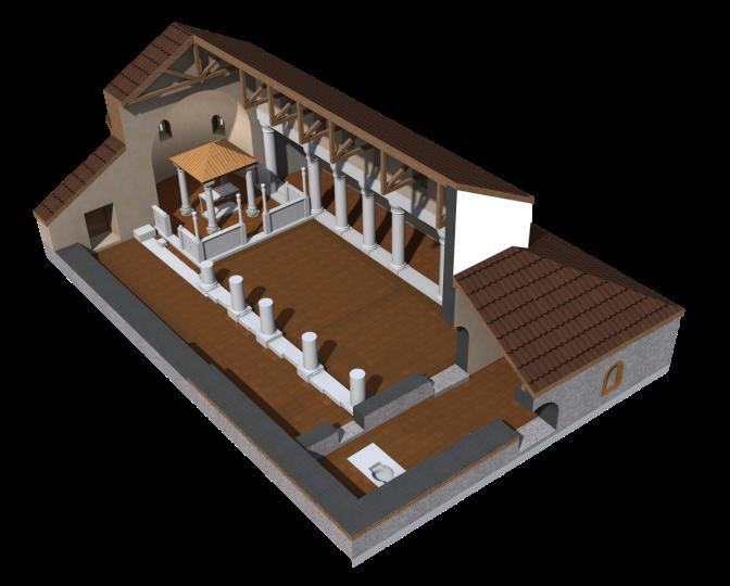 Базиликата - етап I
