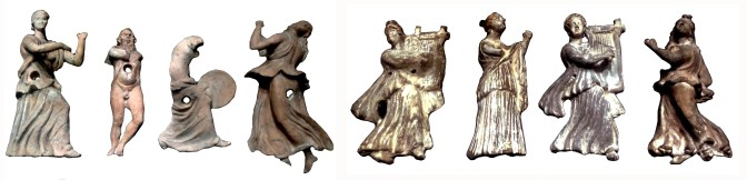 Теракотени релефи, които изобразяват Дионис и членовете на неговата свита от Одесос