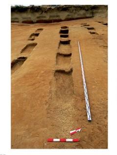 Траншеи - следи от отглеждане на лозя, IV-III в. пр. Хр.